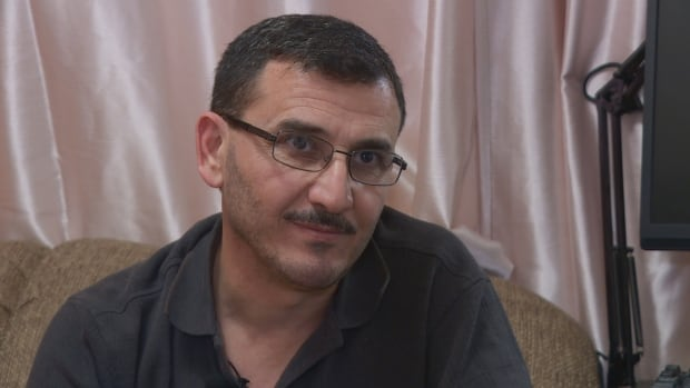 Hossam Aldawrish arrived in Edmonton with his wife in January 2016.