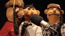 Bighetty and Bighetty puppet show