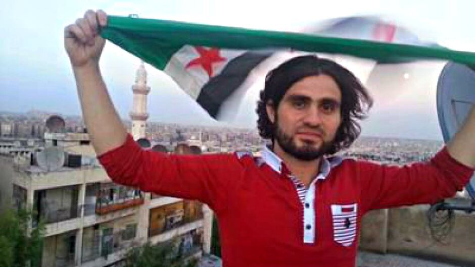 Abdulkafi al-Hamdu is an english professor and blogger in the rebel-held area of eastern Aleppo. al-Hamdu is worried that friends of his have gone missing after entering regime-held areas of the city.