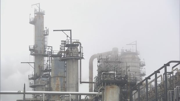 The Irving Oil Refinery in east Saint John is one of several heavy industries from which the city of Saint John would like to collect more tax revenue.