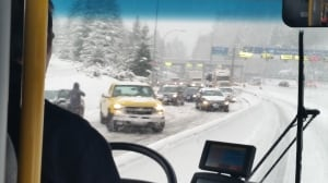 Metro Vancouver snow causing closures and traffic incidents