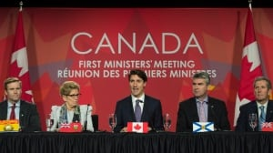 Trudeau's climate deal points the way to 2030 - with more arguing to come