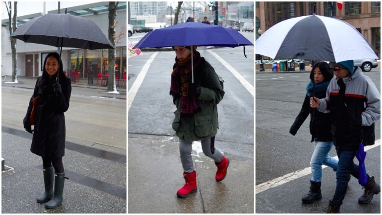 20393205d2d How to dress for winter weather in Vancouver | CBC News