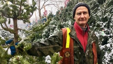 Paul Stewart Christmas Tree Lot