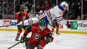 Wild extend Oilers' losing streak in shootout