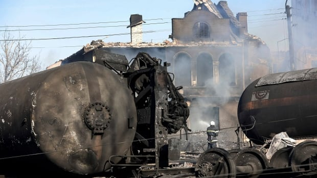 The explosion occurred on a train that was transporting gas in the northeastern Bulgarian village of Hitrino.