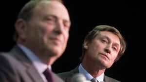 Gretzky, Bettman take opposite views on NHL's Olympic participation