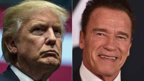 Trump Schwarzenegger composite