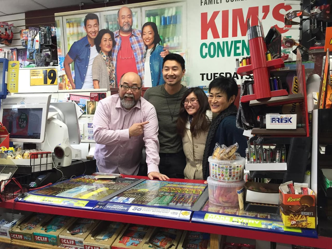 Kim's Convenience fans brave the cold to meet stars of hit CBC show