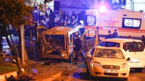 Istanbul bomb attacks kill 15, wound 69: official