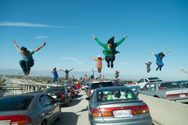 LA La land opening scene