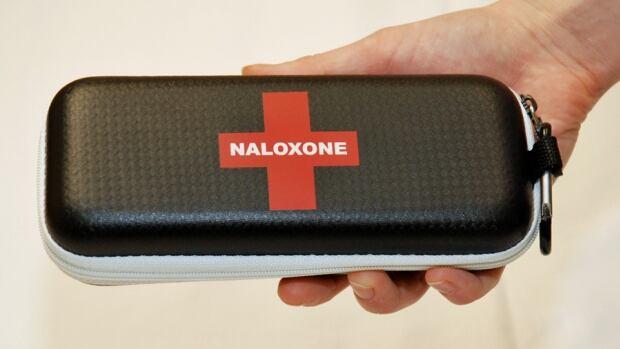 Naloxone blocks or reverses the effects of opioids like fentanyl. Last year, B.C.'s take-home naloxone kit program distributed 16,500 kits.