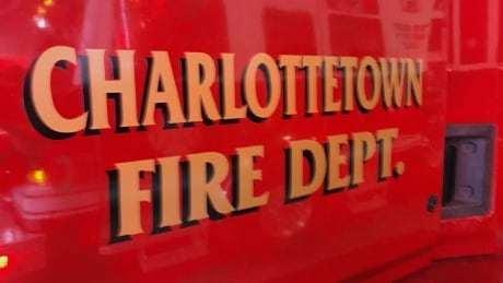 Fire truck Charlottetown
