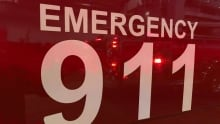 Charlottetown Fire department 911 on side of engine