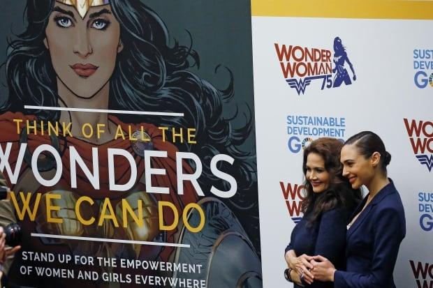UN-WONDER WOMAN/HONORARY AMBASSADOR