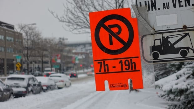 Montreal weather snow removal