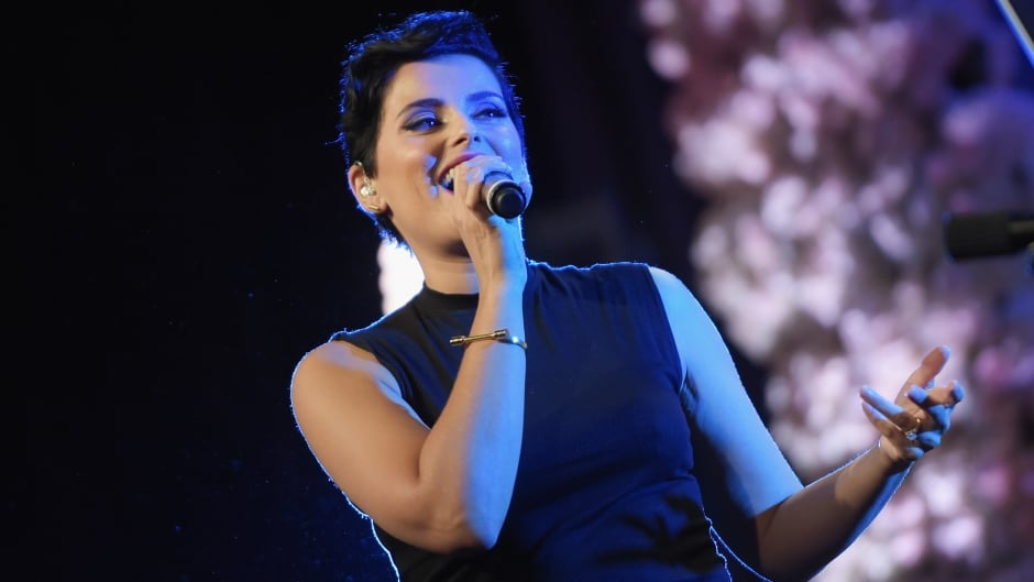 Recording artist Nelly Furtado performs onstage during the WE Day Celebration Dinner at The Beverly Hilton Hotel on April 6, 2016 in Beverly Hills, California.