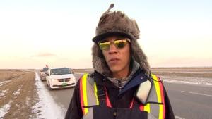 Ricky Sanderson pipeline protester