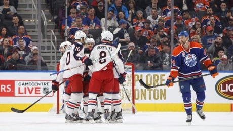 Blue Jackets Beat Oilers To Make It 7 Straight Wins