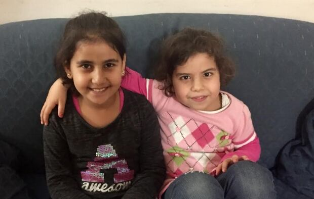 Aya and Reemas Al Abdallah