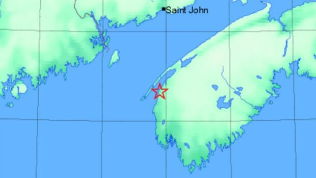 A 3.0 magnitude earthquake was recorded about 42 kilometres soutwest of Digby on Tuesday at 10:40 a.m.