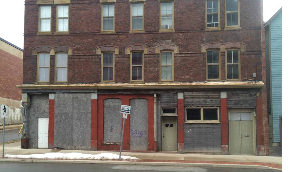 Transformation underway for long-vacant Saint John storefront