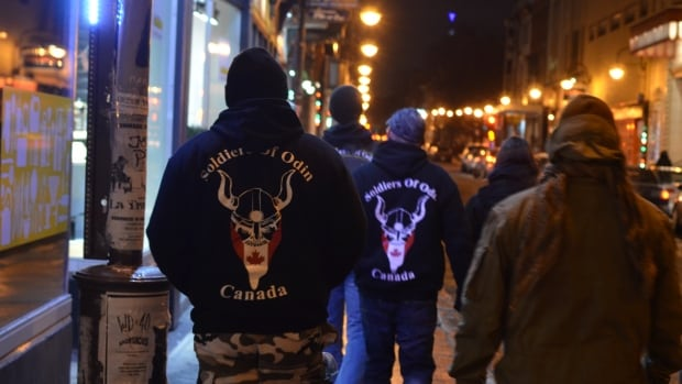 The Soldiers of Odin have been patrolling the streets of Quebec City since February.