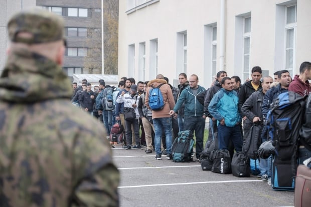 Finland Migrants