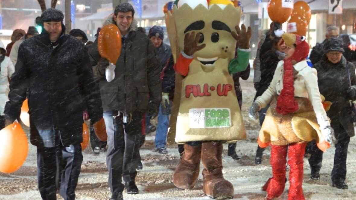 CBC Turkey Drive kicks off campaign for Edmonton Food Bank ...