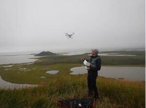 Drone for western arctic shorelines
