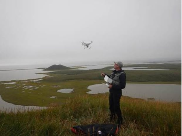 Drone for western arctic shorelines