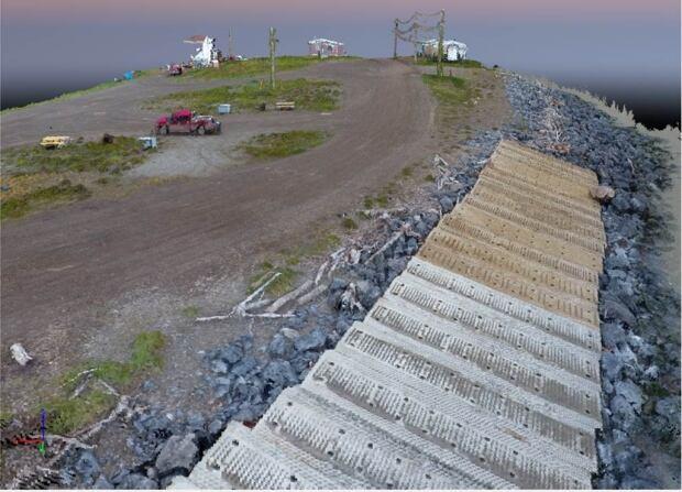 Tuktoyaktuk 3D mosaic shoreline