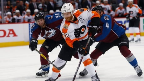 Flyers Rally Past Avalanche For 10th Straight Victory