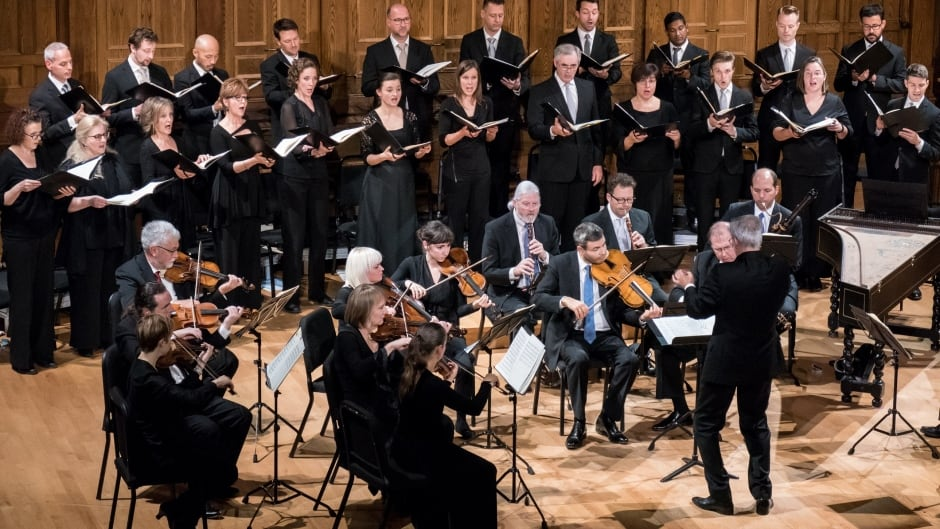 Tafelmusik Orchestra and Chamber Choir directed by Ivars Taurins