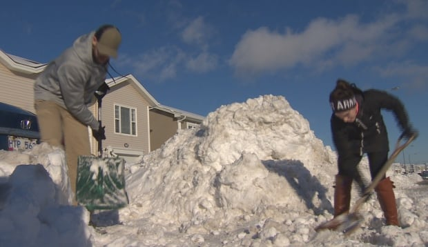 Men with significant risk factors for heart disease may want to opt out of digging out after a major snowfall