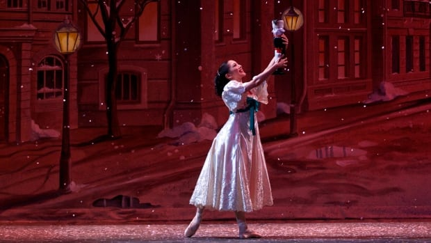 Alberta Ballet Company Artist Luna Sasaki appears in a scene from The Nutcracker. The company is one of 10 local arts groups asking the city to invest $2 million into their organization, as they believe arts and culture is the key to revitalizing the city's economy.