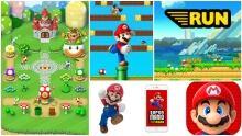 Super Mario Run Collage