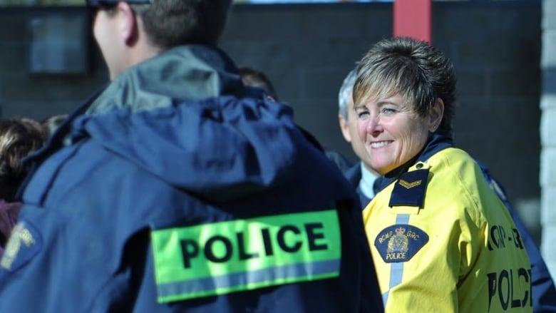 Retired RCMP Sgt. Joanne Fraser