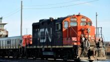CN Rail freight engine