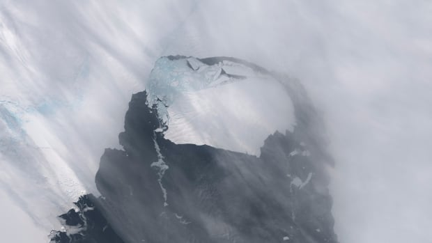 The B-31 Iceberg is seen after separating from a rift in Antarctica's Pine Island Glacier in this NASA Earth Observatory handout image acquired on Nov. 13, 2013.