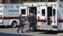 Ottawa Paramedic services ambulance