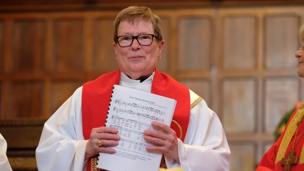 Pat Cook, 70, is part of a small movement of women who have been ordained as Catholic women priests. Her ordination, which was held a United Church in Toronto, is not recognised by the Vatican.