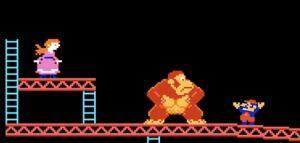 Mario in Donkey Kong
