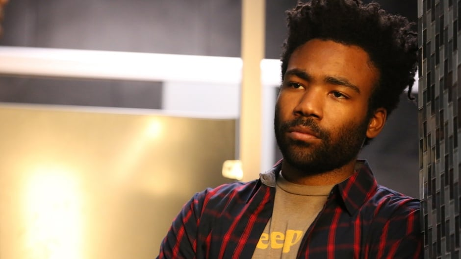 Donald Glover in a scene from his TV series Atlanta.