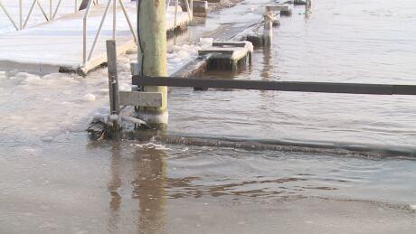 Storm surge charlottetown yacht club