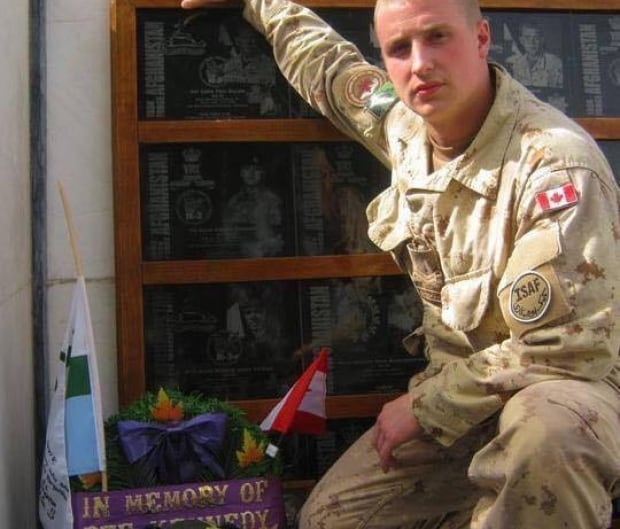 A soldier of conscience: Canadian veteran Dillon Hillier's book reveals he killed ISIL fighters in Iraq Michael-kennedy-wreath-for-brother