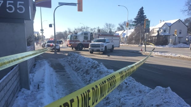A 68-year-old woman died after she was hit by a pickup at Henderson Highway and Kimberly Avenue in December 2016.