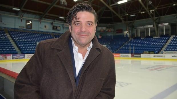 Sudbury Wolves owner Dario Zulich.