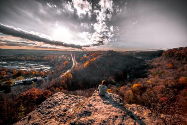 Dundas Peak landscape Liam Keery