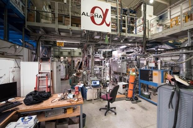 CERN ALPHA experiment